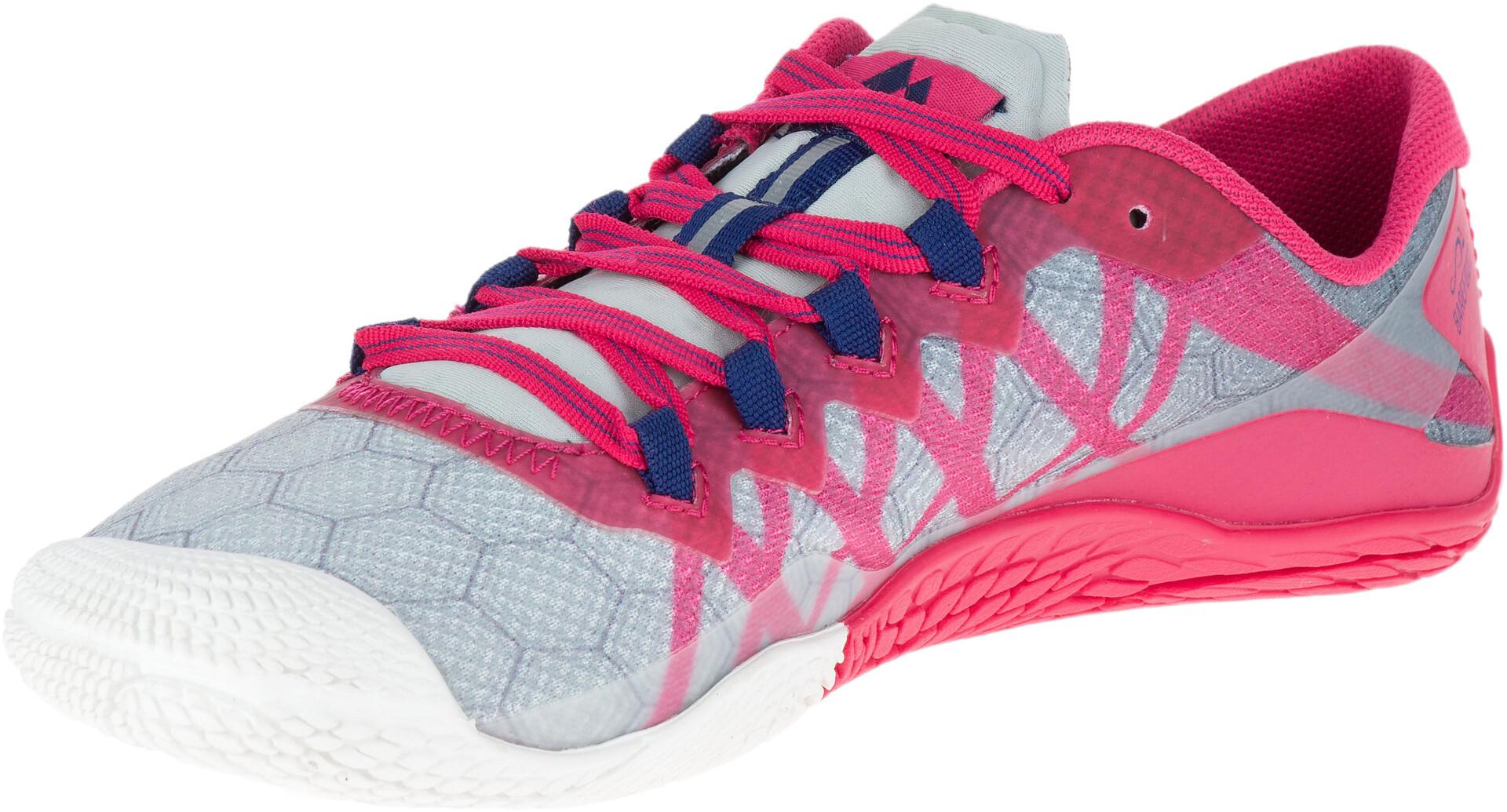 3987697f Merrell Mujer Grisrosa Running Vapor Zapatillas Glove 3 pSUVzM